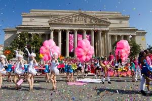 Parada z okazji Cherry Blossom Festival. zdj.flickr.com